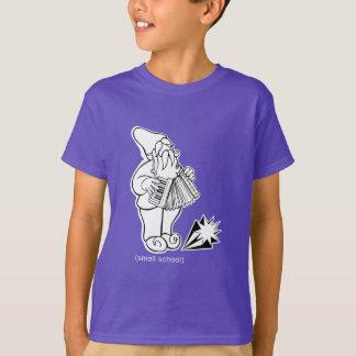 "small school ""Accordion Gnome"" Tees"