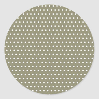 small scores dotted scored polka dots hots round sticker