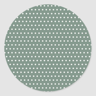 small scores polka dots scored dabs dabbed round sticker