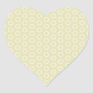 small scores retro samples scored dotted heart stickers