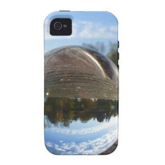 Small sea seen through a crystal ball Case-Mate iPhone 4 cover