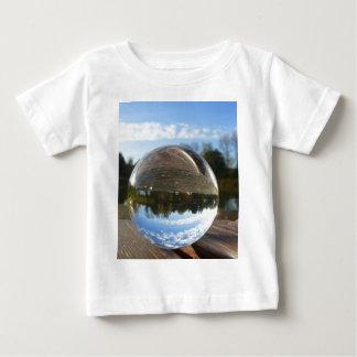 Small sea seen through a crystal ball shirts
