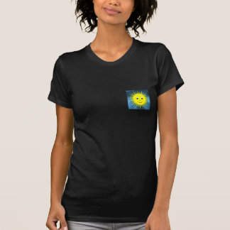 Small smiling Sun with blue sky T-shirt