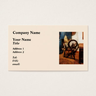 Small Spinning Wheel Business Card