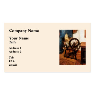 Small Spinning Wheel Pack Of Standard Business Cards