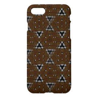 small square and triangle pattern iPhone 8/7 case