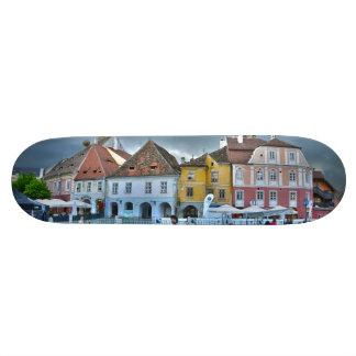 Small Square, Sibiu HDR Custom Skate Board