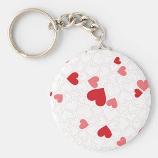 Small St Valentine s day hearts - Key Chain