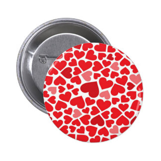 Small St. Valentine's day hearts - Button