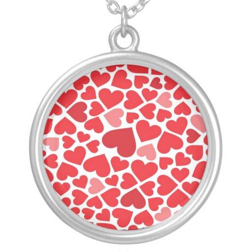 Small St. Valentine's day hearts - Pendant
