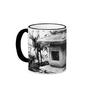 Small stone lantern ringer mug