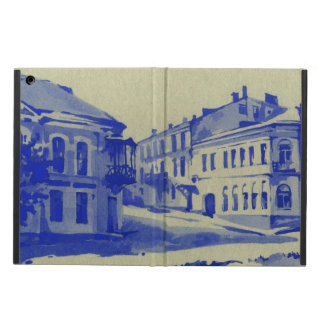 Small streets in the old town iPad air case