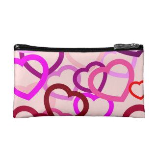 """Small""""tangled heart"""" Cosmetic  Bag"""
