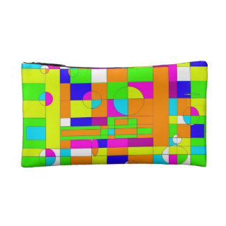Small Tapestry of Colours Cosmetic Bag