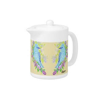 Small Teapot / Blue Birds