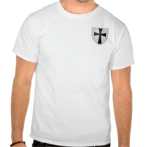 Small Teutonic Order Coat of Arms (Style B) Tee Shirts