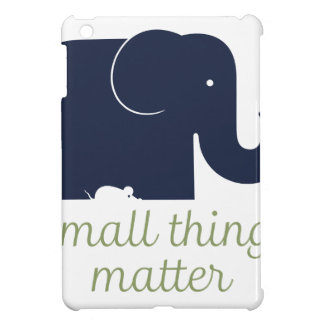 Small things matter.pdf iPad mini cover