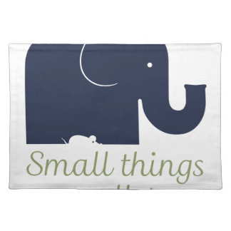 Small things matter.pdf placemat