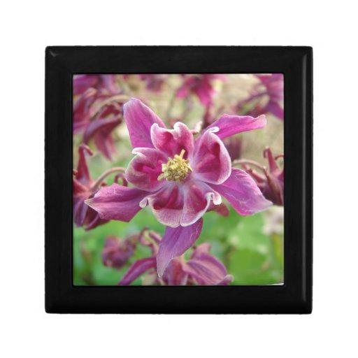 Small Tile Purple Flower Gift Box