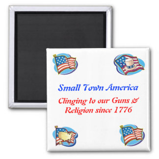 Small Town America Magnet