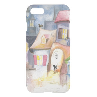 Small town at night iPhone 8/7 case