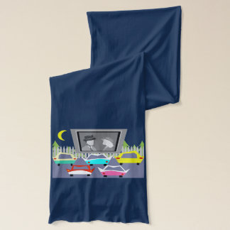 Small Town Drive-In Movie Scarf