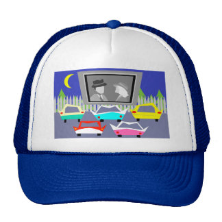 Small Town Drive-In Movie Trucker Hat