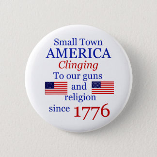 Small Town Proud Button