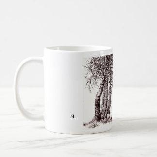 small tree mug, style a coffee mug