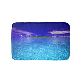 Small Tropical Paradise Bath Mat