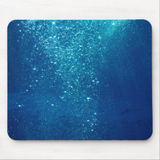 Small Underwater Bubbles Mouse Mat