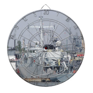 Small Warship Dartboard