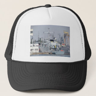Small Warship Trucker Hat