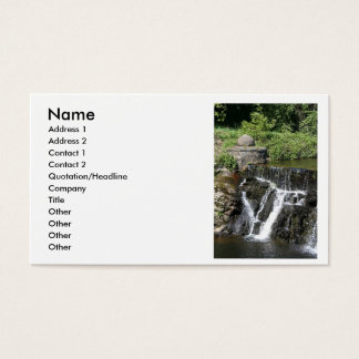 small warter fall, Name, Business Card