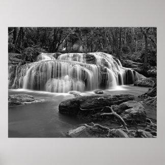 Small waterfall print