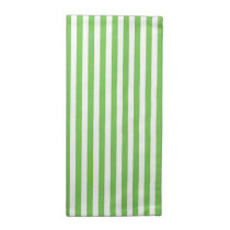 Small White & Custom Colour Stripes Table Napkin