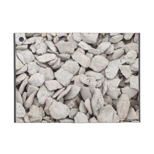 Small White Stone Cover iPad Mini Covers