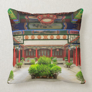Small Wild Goose Temple, China Cushion