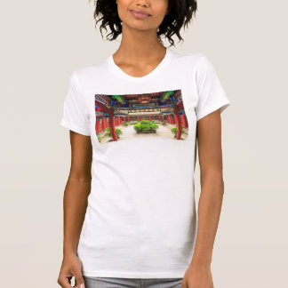 Small Wild Goose Temple, China T-Shirt