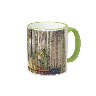 Small Winter Garden Empress Alexandra Fyodorovna Ringer Mug