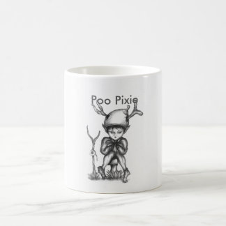 'Small World' Poo Pixie Warrior Mug
