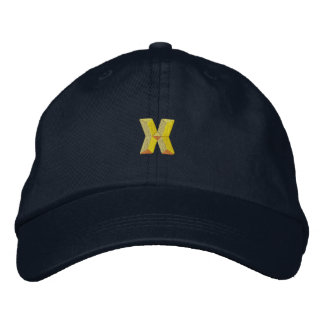 Small X Embroidered Hat