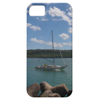 Small Yacht Returning To Port iPhone 5 Cases