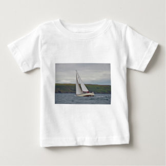 Small Yacht Sailing Hard Baby T-Shirt