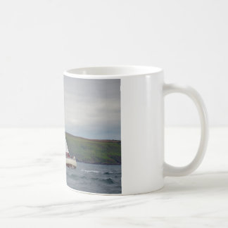 Small Yacht Sailing Hard Coffee Mug