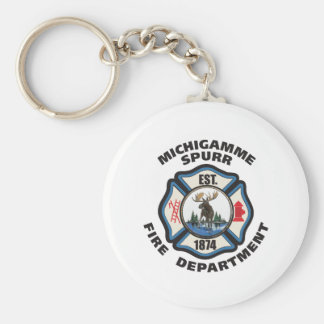 SMALLER cdr of Michigamme Spurr Fire Department.pd Keychains