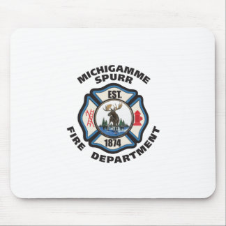 SMALLER cdr of Michigamme Spurr Fire Department.pd Mouse Pad