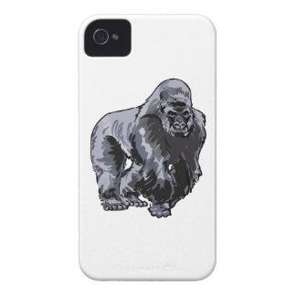 SMALLER SILVERBACK GORILLA iPhone 4 CASE