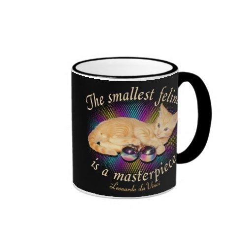 Smallest Feline Ringer Coffee Mug