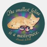 Smallest Feline Sticker